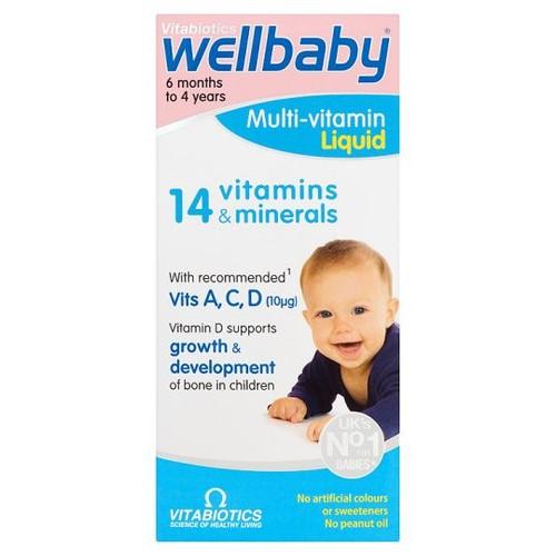 Vitamin tổng hợp Wellbaby