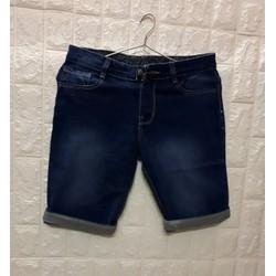Quần shorts jeans nam thời trang  TRƠN hình thật size 28 đến 34 JC01