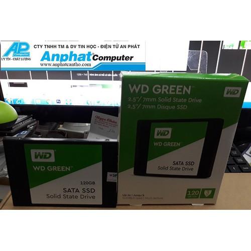 Ổ cứng SSD WESTERN 120GB Sata3 2.5 bảo hành 36 tháng chính hãng
