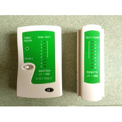 Hộp test mạng có sẵn PIN - bộ test RJ45 - kiểm tra dây mạng