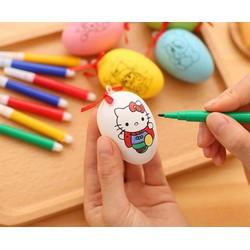 Túi trứng tô màu kèm bút cho trẻ em