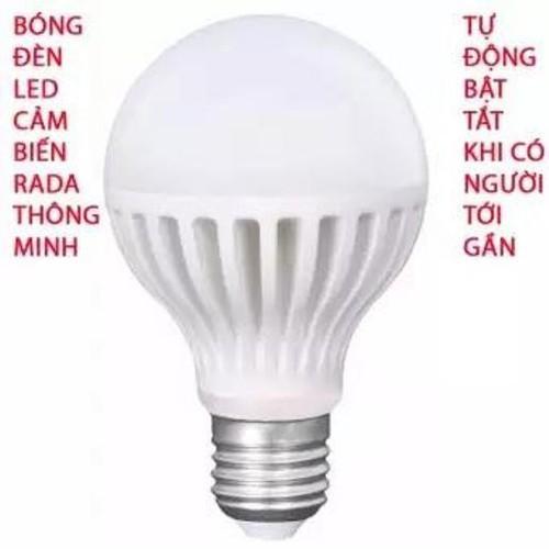 Bóng đèn Led cảm ứng 12W tự động tắt mở khi có người đến gần