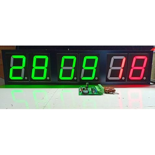 ĐỒNG HỒ SỐ 6 LED 7 ĐOẠN 90*122MM