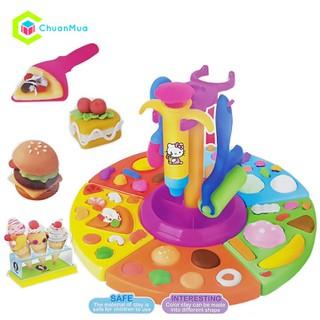 Đồ chơi đất sét làm bánh kem cây meo KITTY Chuantoy DCA033 - DCA033-C0037A-Đồ chơi đất sét thumbnail