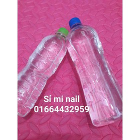Chai axiton dùng lau gel rửa móng lau hóa chất nghành nail sản phẩm - axiton500ml