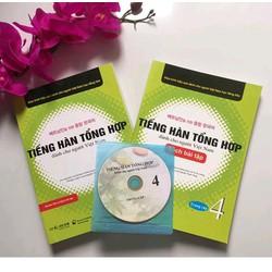 Tiếng hàn dành cho người Việt Nam Trung Cấp 4 - Giáo Khoa + Bài Tập