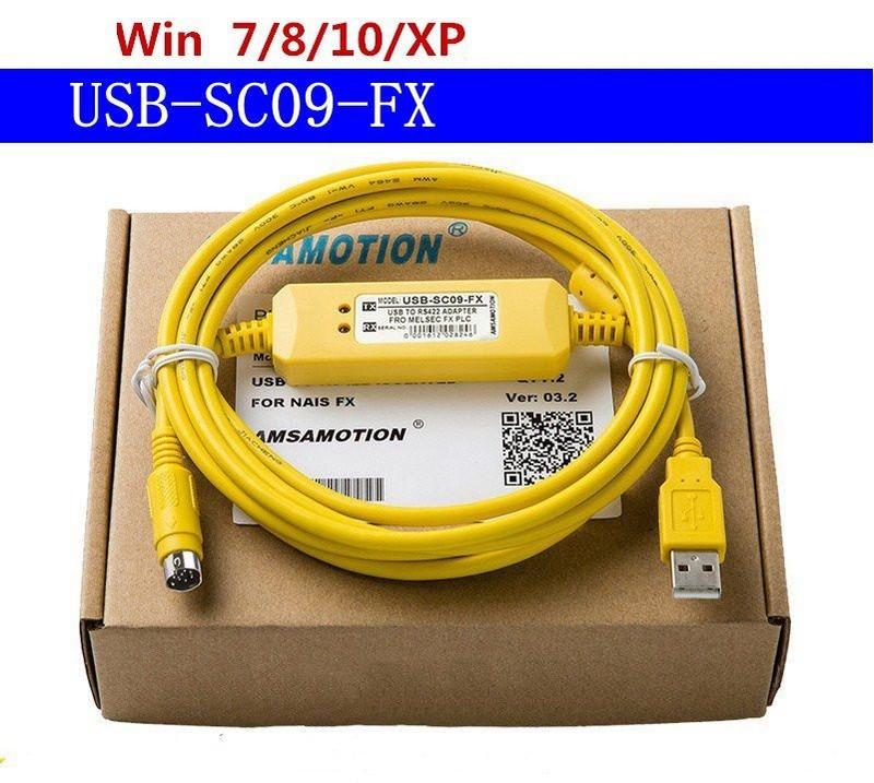 Cáp lập trình USB SC09 FX cho PLC Mitsubishi FX 1