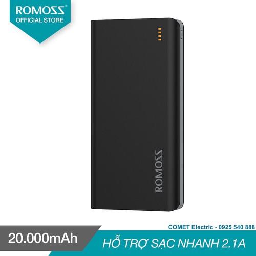 PIN sạc dự phòng 20.000mAh ROMOSS_Solit 20