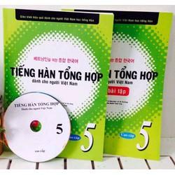 Tiếng hàn dành cho người Việt Nam Cao Cấp 5 - Giáo Khoa + Bài Tập