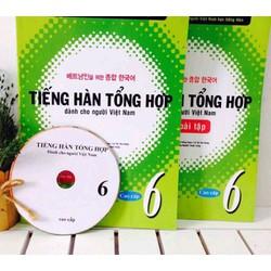 Tiếng hàn dành cho người Việt Nam Cao Cấp 6 -Giáo Khoa + Bài Tập