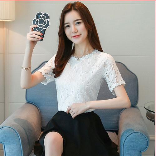 Áo nữ hoa xinh dịu dàng - E8111