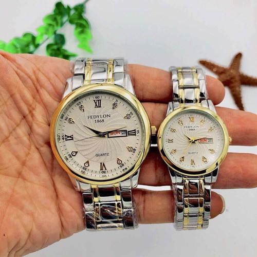 đồng hồ đôi FEDYLON - 5600047 , 12021805 , 15_12021805 , 449000 , dong-ho-doi-FEDYLON-15_12021805 , sendo.vn , đồng hồ đôi FEDYLON