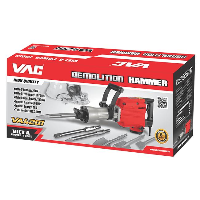 Máy đục bê tông VAC VA4201