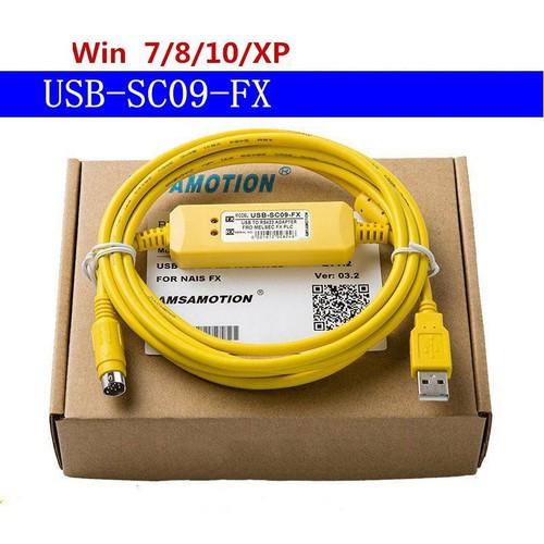 Cáp lập trình USB SC09 FX cho PLC Mitsubishi FX - 4433517 , 12035749 , 15_12035749 , 180000 , Cap-lap-trinh-USB-SC09-FX-cho-PLC-Mitsubishi-FX-15_12035749 , sendo.vn , Cáp lập trình USB SC09 FX cho PLC Mitsubishi FX