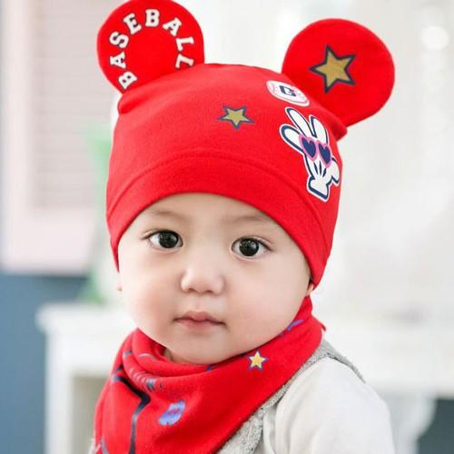 Set nón và khăn len 2 tai chuột Mickey cho bé trai và gái - 5873417 , 12379219 , 15_12379219 , 100000 , Set-non-va-khan-len-2-tai-chuot-Mickey-cho-be-trai-va-gai-15_12379219 , sendo.vn , Set nón và khăn len 2 tai chuột Mickey cho bé trai và gái