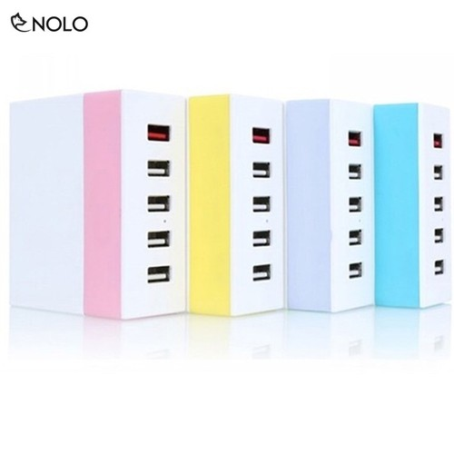 Bộ Sạc Đa Năng 5 Cổng USB SuperCharger RU-U1 Chất Liệu Nhựa ABS - 4443670 , 12374262 , 15_12374262 , 284000 , Bo-Sac-Da-Nang-5-Cong-USB-SuperCharger-RU-U1-Chat-Lieu-Nhua-ABS-15_12374262 , sendo.vn , Bộ Sạc Đa Năng 5 Cổng USB SuperCharger RU-U1 Chất Liệu Nhựa ABS
