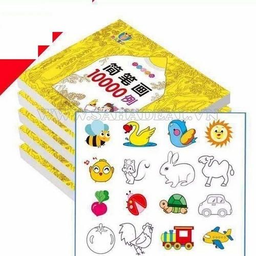 Sách tập tô màu theo hình vẽ kèm 12 bút chì cho bé 10000 hình vẽ - 5873503 , 12379430 , 15_12379430 , 105000 , Sach-tap-to-mau-theo-hinh-ve-kem-12-but-chi-cho-be-10000-hinh-ve-15_12379430 , sendo.vn , Sách tập tô màu theo hình vẽ kèm 12 bút chì cho bé 10000 hình vẽ