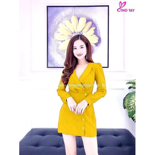 Đầm vải phi lụa