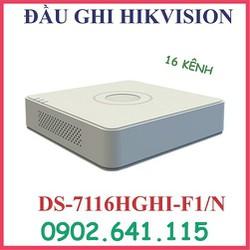 đầu ghi hình 16 kênh DS-7116HGHI -F1-N