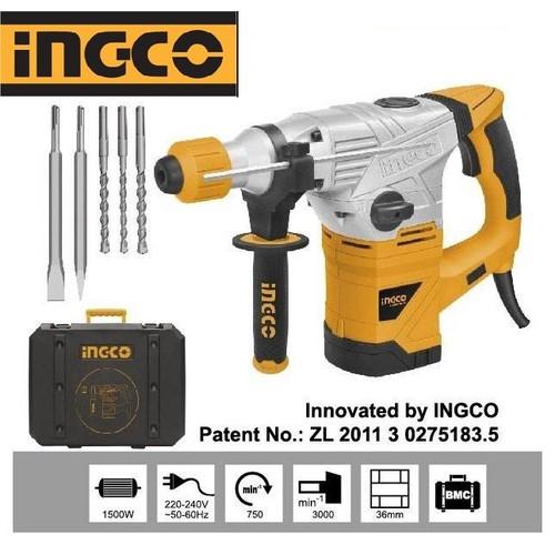 1500W - 36MM Máy khoan đục bê tông Ingco RH15008