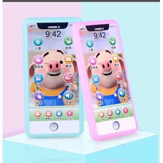 Điện thoại cảm ứng phát nhạc đèn cho bé - dt2 thumbnail