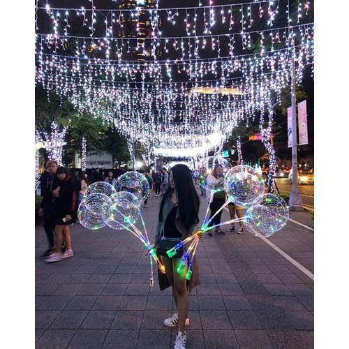 Bóng bay đèn led Galaxy lung linh , huyền ảo