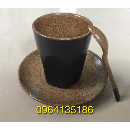 Bộ cốc cà phê latte gốm sứ Bát Tràng - 5862217 , 12368190 , 15_12368190 , 90000 , Bo-coc-ca-phe-latte-gom-su-Bat-Trang-15_12368190 , sendo.vn , Bộ cốc cà phê latte gốm sứ Bát Tràng
