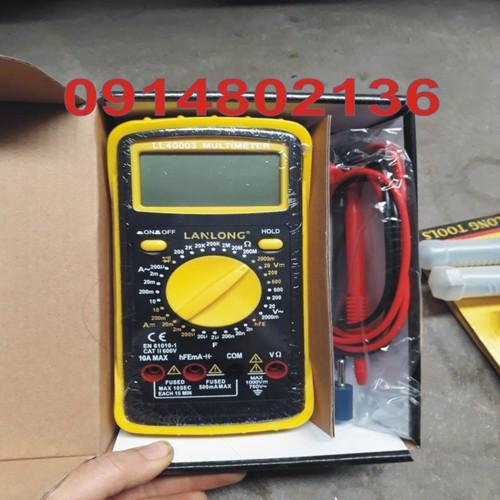 Đồng hồ đo điện giá rẻ - đồng hồ đo điện đa năng, điện tử số to