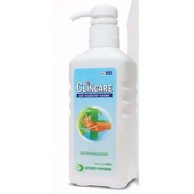 Nước rửa tay khô diệt khuẩn nhanh Clincare 500ml - dung dịch sát khuẩn - SP397