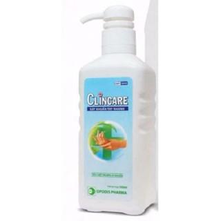 Nước sát khuẩn tay nhanh Clincare 500ml - SP397 thumbnail