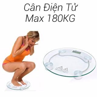 CÂN TRÒN ĐIỆN TỬ KÍNH CƯỜNG LỰC-180kg - mt710 thumbnail