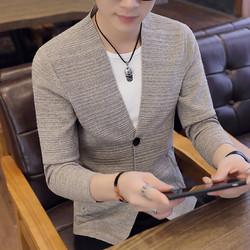 Áo khoác len, cardigan nam phong cách Hàn Quốc - AK1814