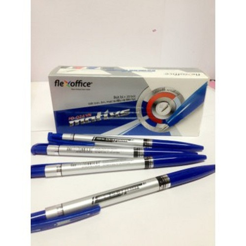 HỘp 20 chiếc bút bi Thiên long FO-024 mực xanh - 5875987 , 12382547 , 15_12382547 , 57000 , HOp-20-chiec-but-bi-Thien-long-FO-024-muc-xanh-15_12382547 , sendo.vn , HỘp 20 chiếc bút bi Thiên long FO-024 mực xanh