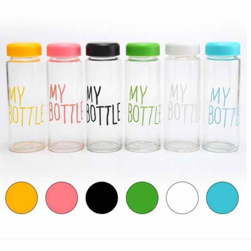 chai thuỷ tinh 500ml My bottle đủ màu tặng kèm túi