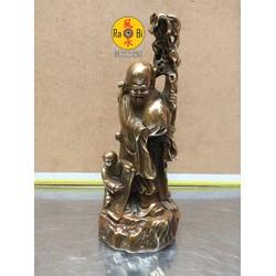 Ông Thọ cầu sức khỏe và trường thọ - Tượng Đồng Phong Thủy
