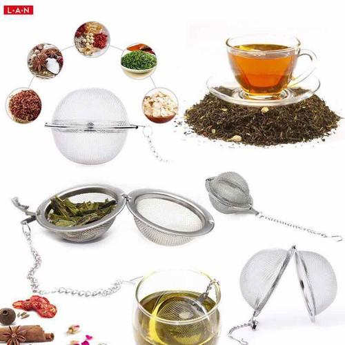 dụng cụ lọc trà inox lưới 4,5cm