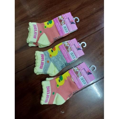 combo 4 đôi tất cao cấp KIDS SOCKS cho bé gái 1-2 tuổi giá rẻ