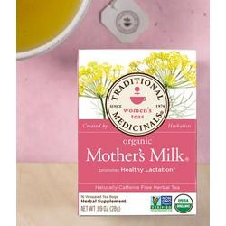 Trà lợi sữa organic mothers milk của Mỹ 28g