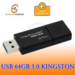 USB 64GB KingSton 100G3 chuẩn 3.0 chính hãng FPT - Viết Sơn phân phối