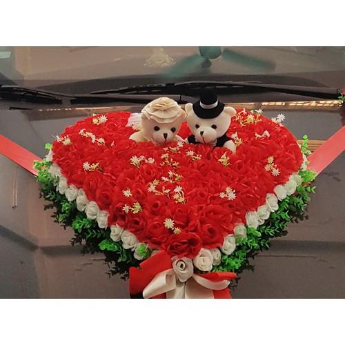 Hoa giả trang trí xe cưới hình trái tím gấu 021 - 5881844 , 12388365 , 15_12388365 , 1700000 , Hoa-gia-trang-tri-xe-cuoi-hinh-trai-tim-gau-021-15_12388365 , sendo.vn , Hoa giả trang trí xe cưới hình trái tím gấu 021