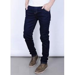 Quần jeans nam trơn xanh than