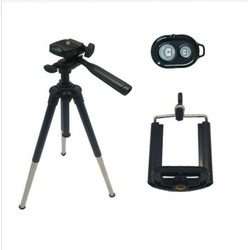 Combo Tripod chân camera - giá đỡ điện thoại - remote chụp ảnh