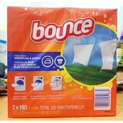 Giấy Thơm Quần Áo Bounce Của Mỹ hộp 160 tờ