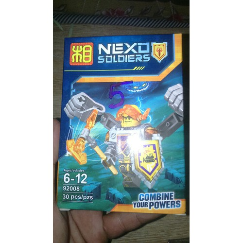 Lắp ráp Legon Nexo 92008 mẫu 5