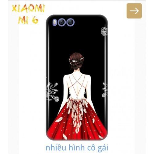 Ốp Lưng Xiaomi Mi 6 Phía Sau Một Cô Gái