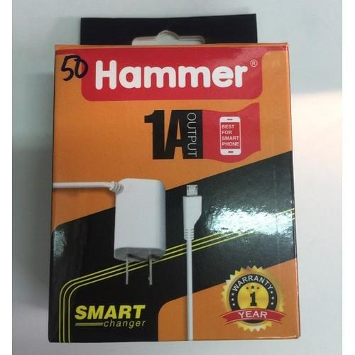 Sạc liền dây Micro USB 1.0A - Hammer SN-H
