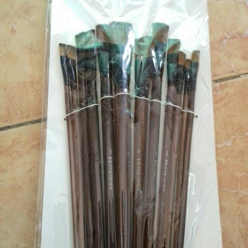 Bộ bút lông mềm 12 cây