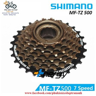 Líp vặn líp xe đạp 7 tầng Shimano MF - TZ500 [ĐƯỢC KIỂM HÀNG] 12416571 - 12416571 thumbnail