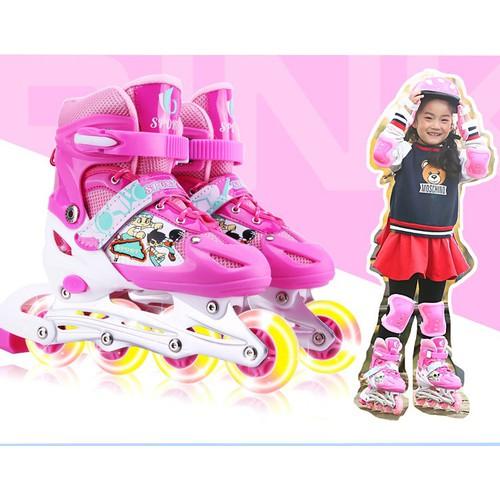 Giày trượt Patin Sports nữ size từ 37 đến 41, màu hồng - 5890602 , 12400088 , 15_12400088 , 325000 , Giay-truot-Patin-Sports-nu-size-tu-37-den-41-mau-hong-15_12400088 , sendo.vn , Giày trượt Patin Sports nữ size từ 37 đến 41, màu hồng