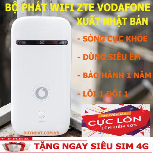 Bộ Phát Wifi Từ Sim 3G,4G ZTE VODAFONE - Thiết Bị Phát Wifi - 5901275 , 12412579 , 15_12412579 , 750000 , Bo-Phat-Wifi-Tu-Sim-3G4G-ZTE-VODAFONE-Thiet-Bi-Phat-Wifi-15_12412579 , sendo.vn , Bộ Phát Wifi Từ Sim 3G,4G ZTE VODAFONE - Thiết Bị Phát Wifi